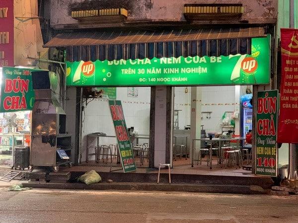 bún chả Duy Diễm 2 Khám phá bún chả Duy Diễm nổi tiếng nhất Hà thành